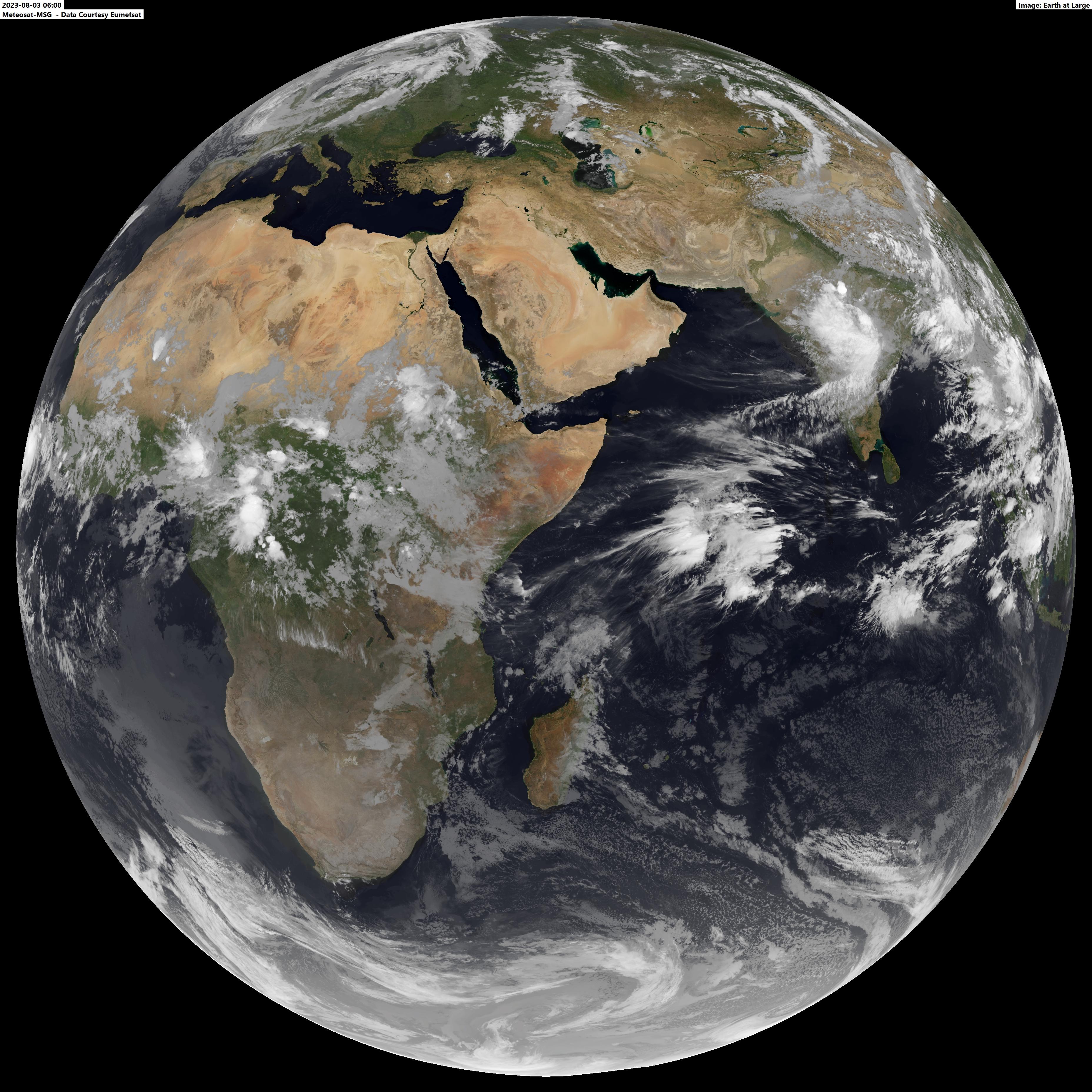 آخرین تصویر گرفته شده از زمین