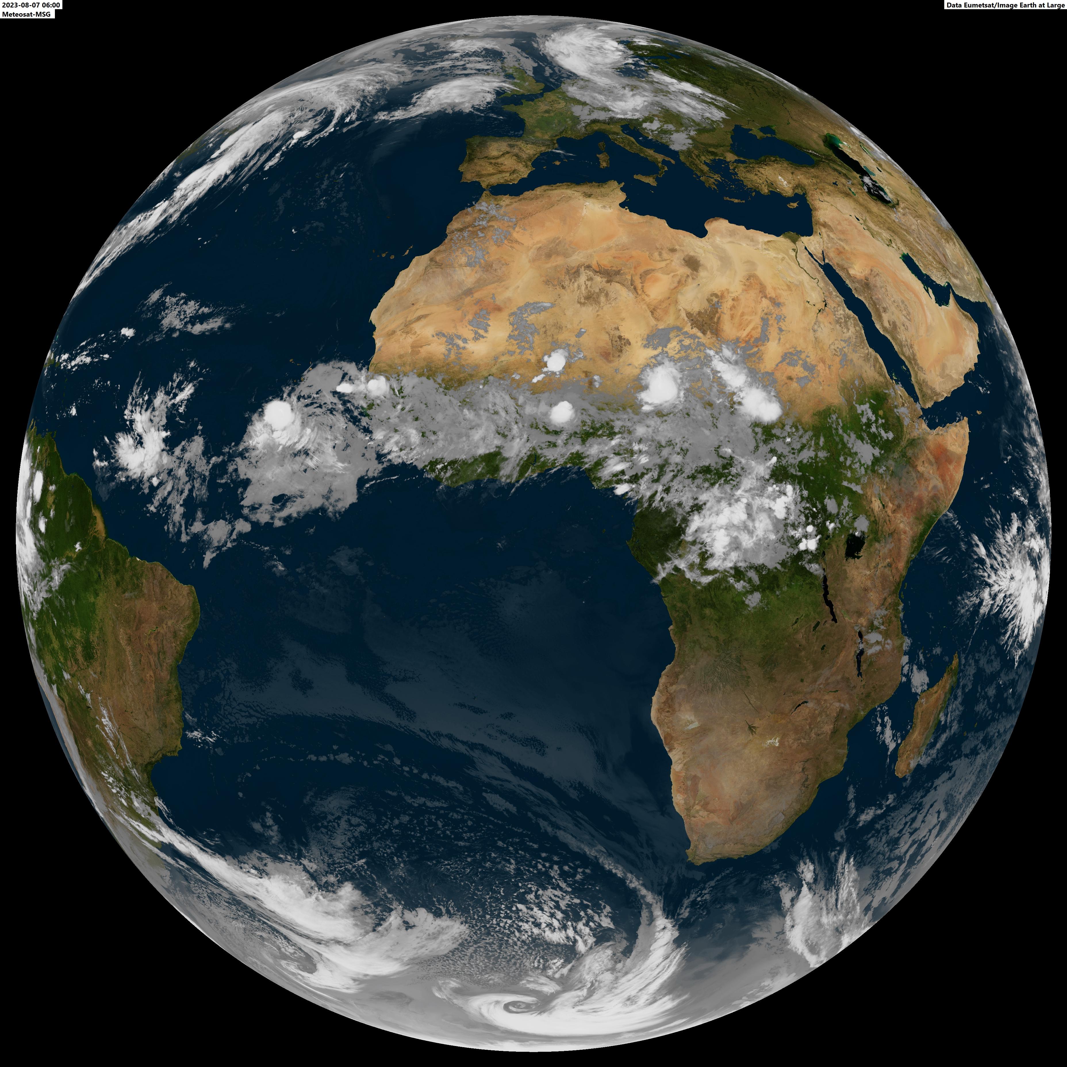 satelliet wereld