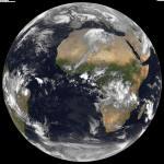 Mooie satellietbeelden van de hele aarde